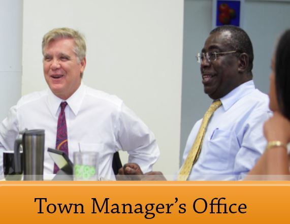 town manager office graphic