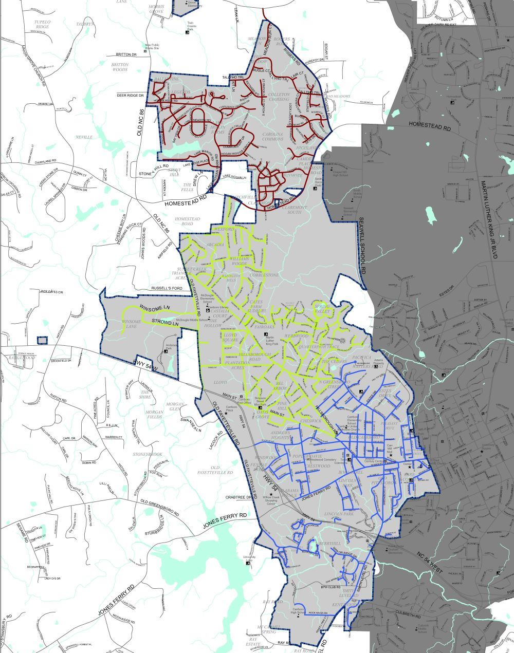 Residential Solid Waste Map